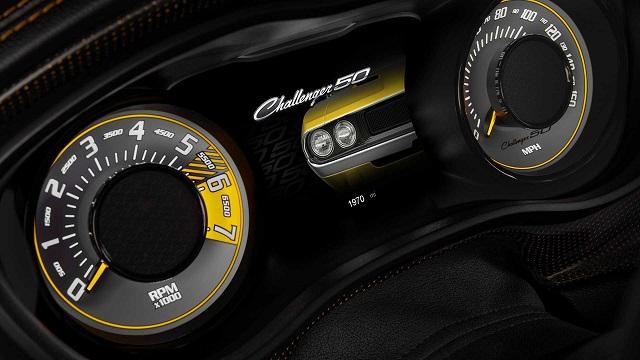 2020 Dodge Challenger 50th Anniversary Edition Instrument Cluster