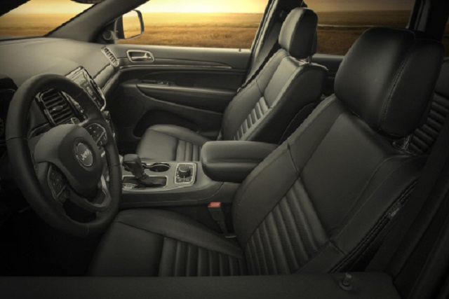 2020 Jeep Grand Cherokee Limited X Interior