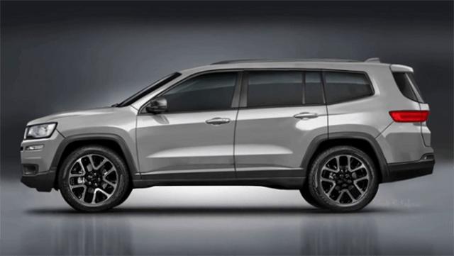 2020 Jeep Wagoneer side