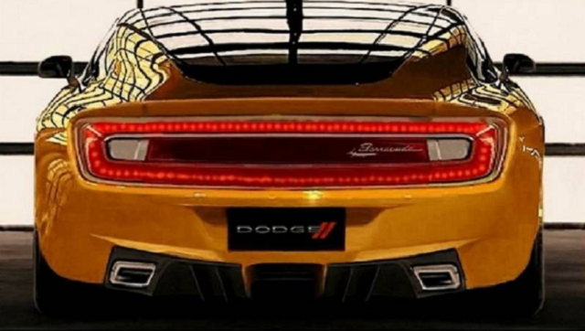 2021 Dodge Barracuda rear