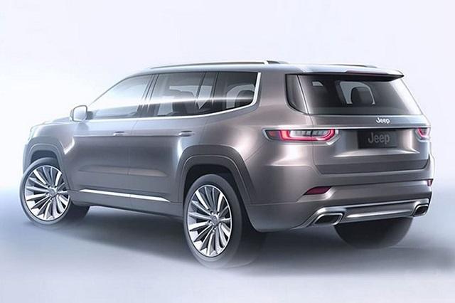 2021 Jeep Wagoneer Concept