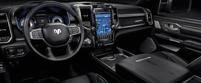 2020 Dodge Ram 1500 Limited Interior