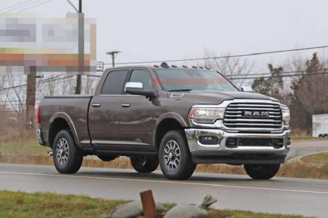 2020 Dodge Ram 2500 Diesel towing capacity