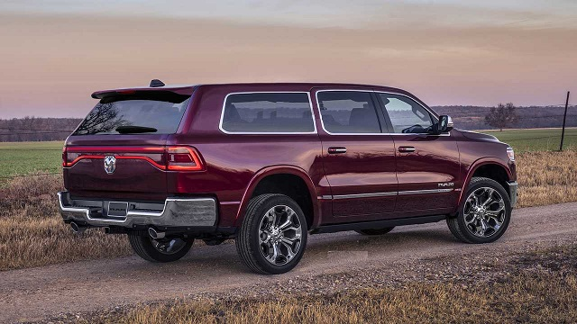 2020 Dodge Ramcharger Rendering