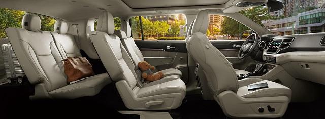 2021 Chrysler Commander Interior Rendering