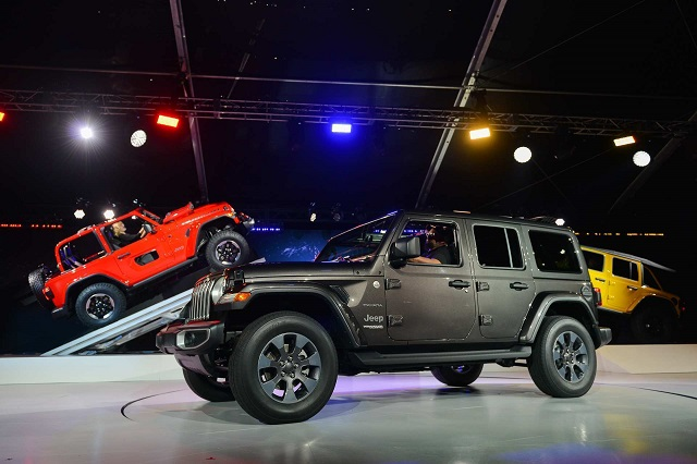 Electric 2020 Jeep Wrangler Design