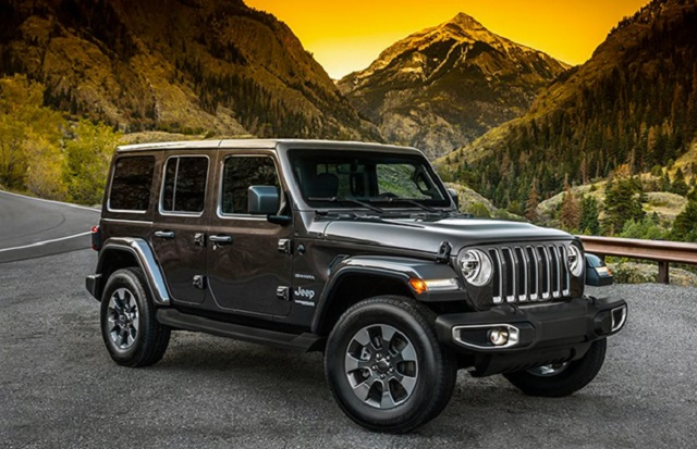 Electric 2020 Jeep Wrangler Specs