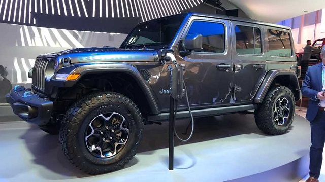 Hybrid Electric 2020 Jeep Wrangler