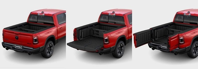 2020 Dodge Ram Tailgate