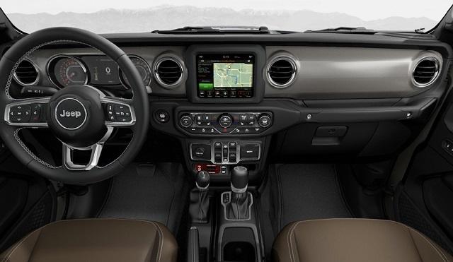 2020 Jeep JT Gladiator Interior