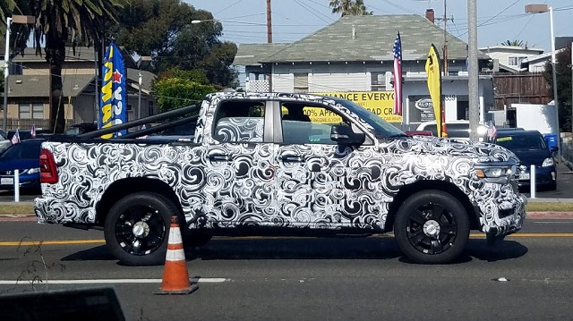 2021 Dodge Dakota spy photo