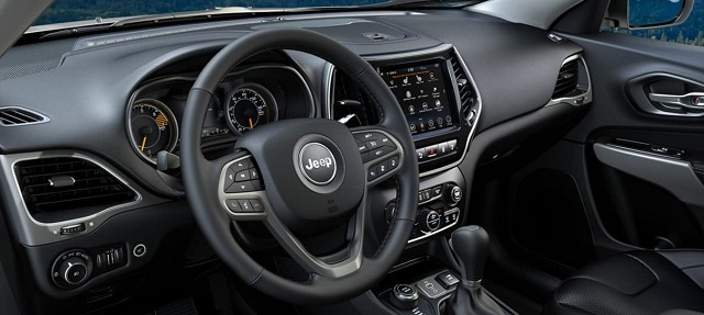 2021 Jeep Cherokee Interoir