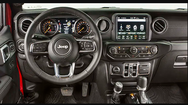 2021 Jeep Gladiator Diesel Interior