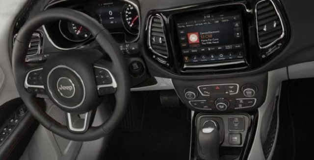 2021 Jeep Compass Hybrid Interior