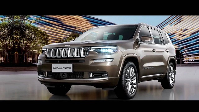 2021 Jeep Grand Commander China