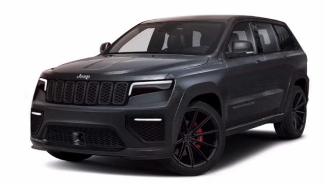 2021 Jeep Trackhawk Rendering