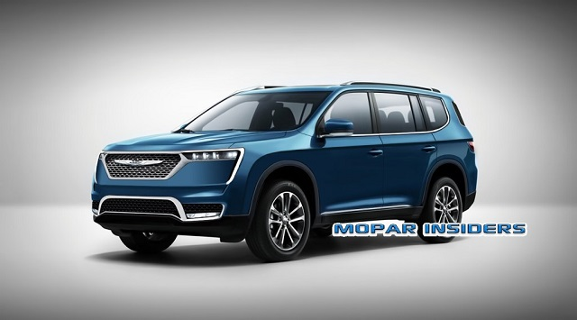 2021 Chrysler Aspen Render