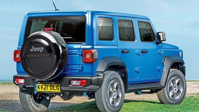 2022 Mini Jeep render