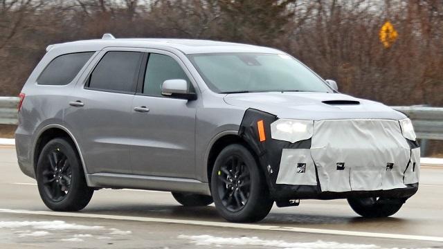 2021 Dodge Durango SRT Spy Shot
