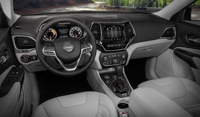 2021 Jeep Compass Trailhawk Interior