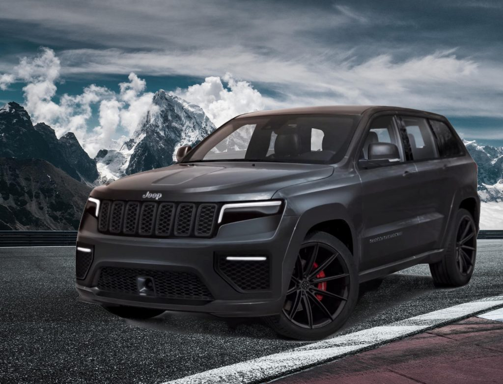 2021 Jeep Grand Cherokee Rendering image