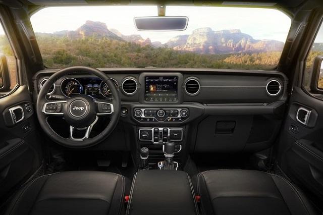 2021 Jeep Wrangler Electric Interior