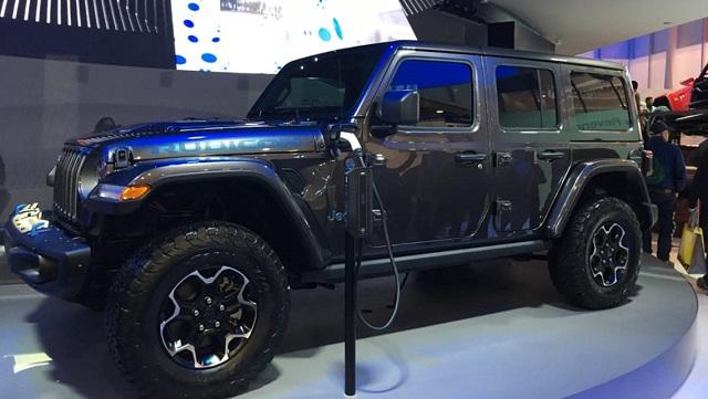 2021 Jeep lineup - Wrangler PHEV