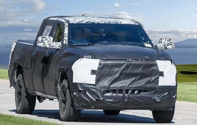 2021 Ram Mid-Size Truck Spy Photo