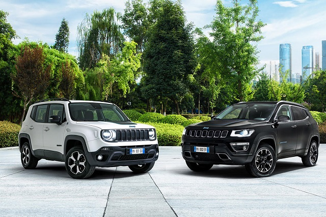 2021 Jeep lineup - Compass and Renegade