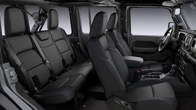 2021 Jeep Wrangler 2 Door Interior