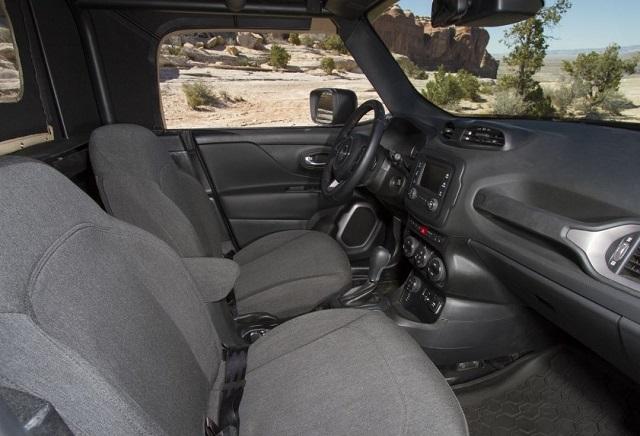 2021 Jeep Comanche Interior