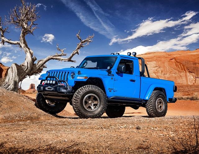 2021 Jeep Gladiator 2 Door Front