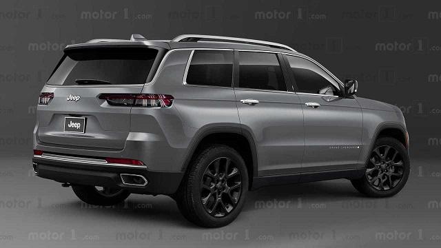 2022 Jeep Grand Cherokee render