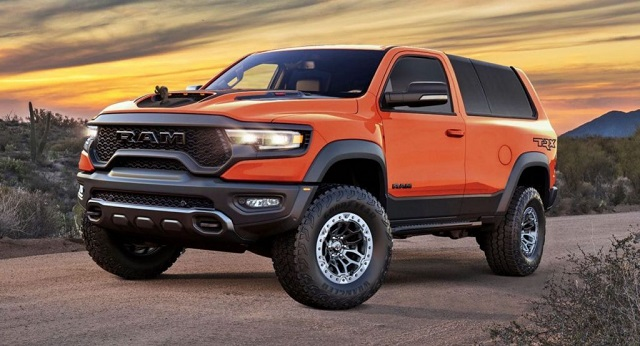 2022 Ram SUV rendering photo