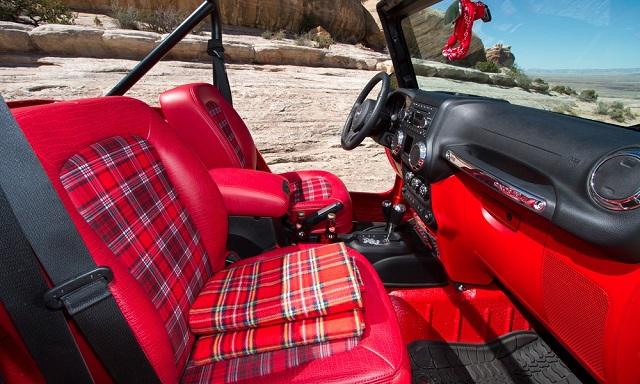 Jeep Shortcut Concept Interior