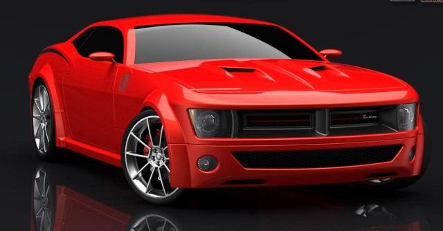 2022 Dodge Barracuda render