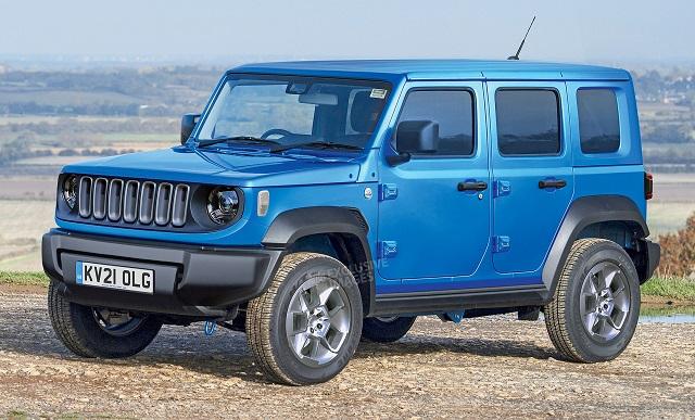 2022 Baby Jeep render