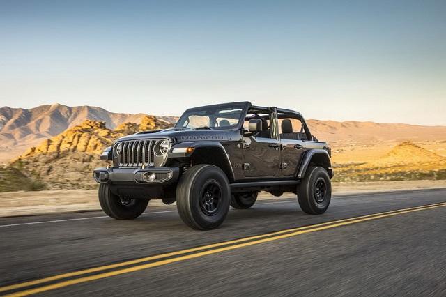 Jeep Wrangler HEMI V8 392