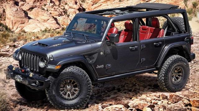 Jeep Wrangler HEMI V8