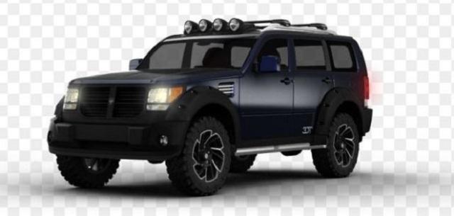 2022 Dodge Nitro render