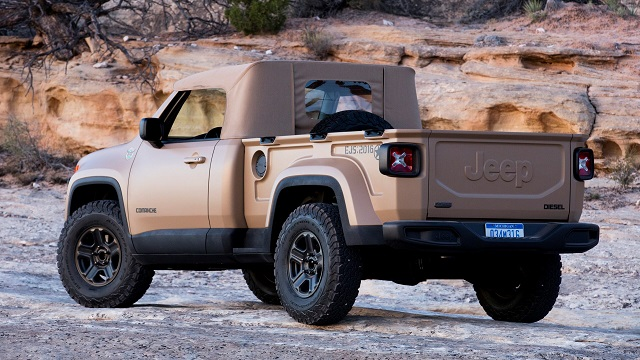2022 Jeep Comanche Concept