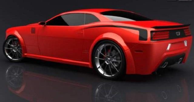 2022 Dodge Barracuda rendering
