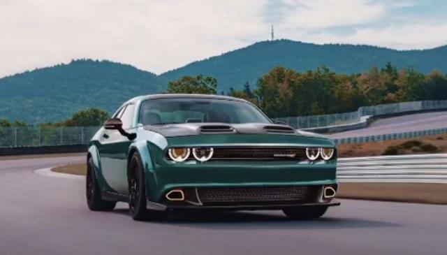 2023 Dodge Challenger render