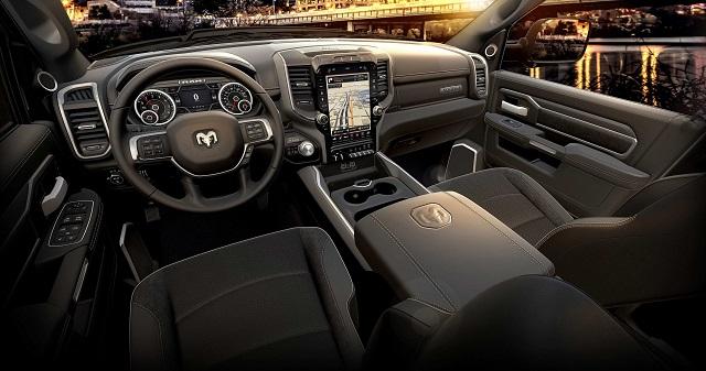 2023 RAM 2500 Interior